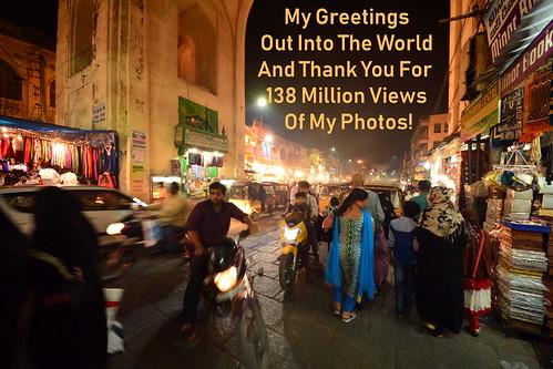 India - Telangana - Hyderabad - Streetlife At Night - 138