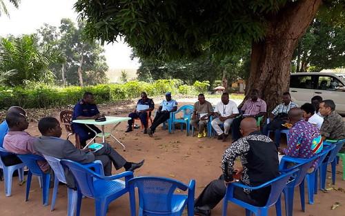 Gemena, South-Ubangi, RD Congo: The Mobile Monitoring and Response Team (MMRT) has visited Gemena in Sud-Ubangi Province.