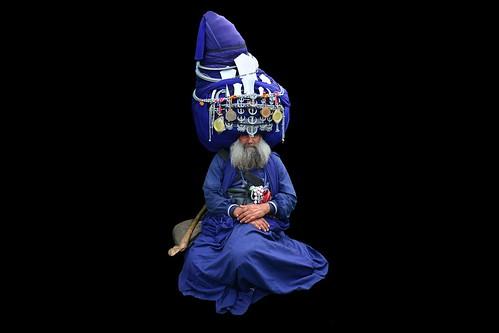 India - Punjab - Anandpur Sahib - Sikh With Giant Turban - 13d