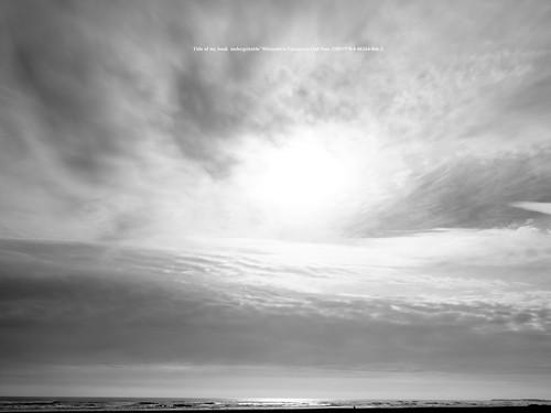 Fuji film GFX50R shot.   Presence. (Sky and people.)