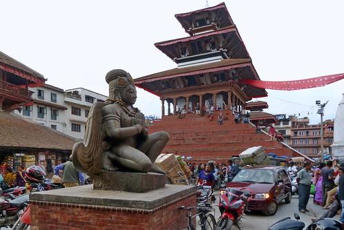 Nepal - Kathmandu - Durbar Square - Garuda - 244