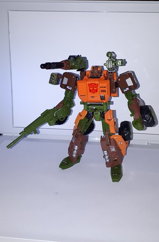 Roadbuster Generation 2014 Voyager class Autobot Transformers Figur