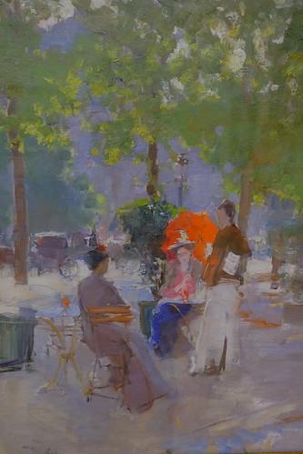 XE3F4852 - Parisian Cafe (1895), By Konstantin Korovin