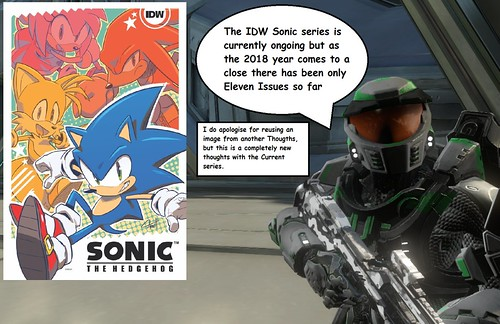 Thoughts on IDW Sonic