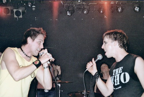 kevin cahoon & asa somers gig, around 2002? is my guess