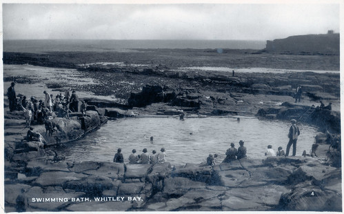 Whitley Bay - Swimming Bath Prior to 1932