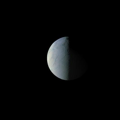 Enceladus Saturnshine - Rev 259