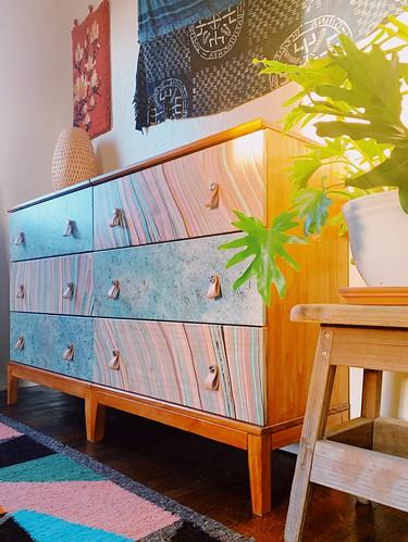 decoupage dressers