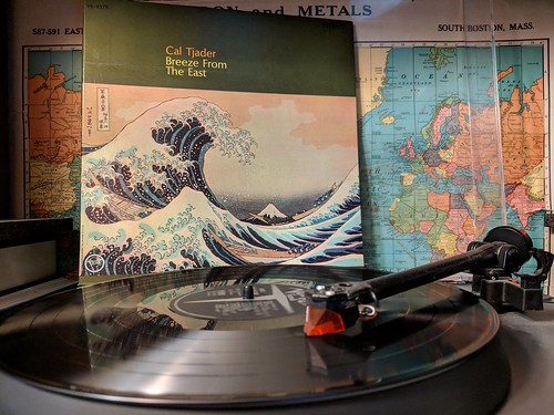 Cal Tjader - Breeze From The East  Verve Records, V6-8575, 1964 US