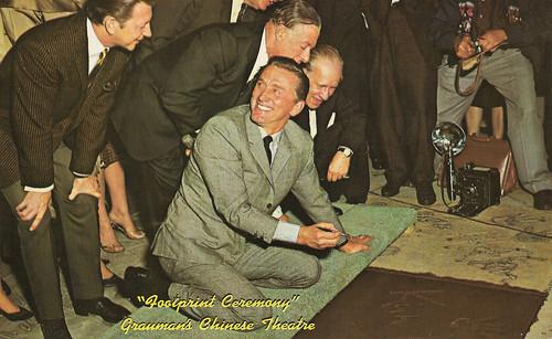 Kirk Douglass, Footprint Ceremony Grauman's Chinese Theatre