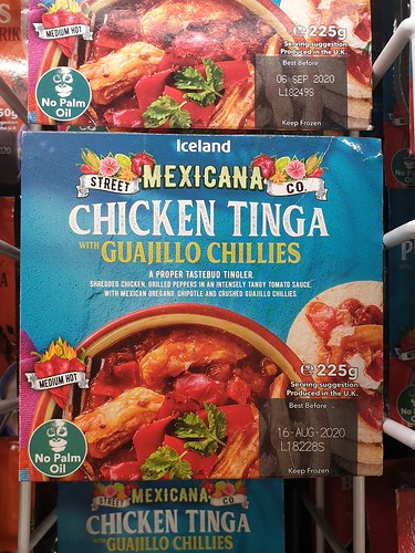 Chicken Tinga is almost certainly better with guajillo chillies