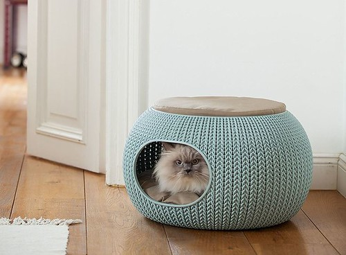 Pets Home : Keter's Knitting-Inspired Pet Beds Are a Home Decor Dream Come True