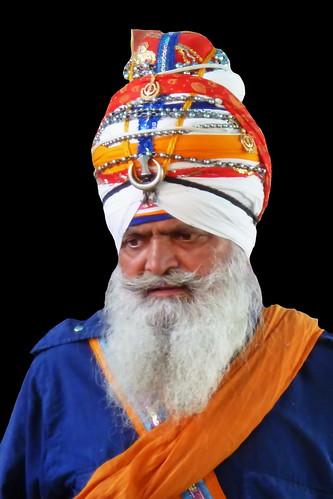 India - Punjab - Amritsar - Golden Temple - Sikh Guardian - 467