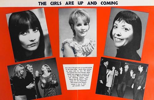 65-0410-08 - Sandie Shaw - Petula Clark - Keely Smith - Marianne Faithfull - The Seekers (Pop Weekly 3-33)