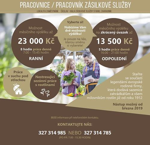 Nabídka práce - Čáslav