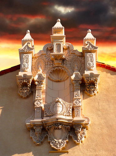 Lensic Theater Facade