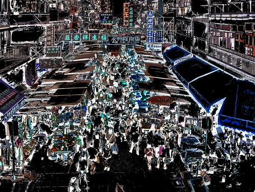 Hongkong - Streetlife - Market - 20dd