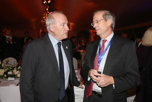 Dinner debate with Laurent Fabius
