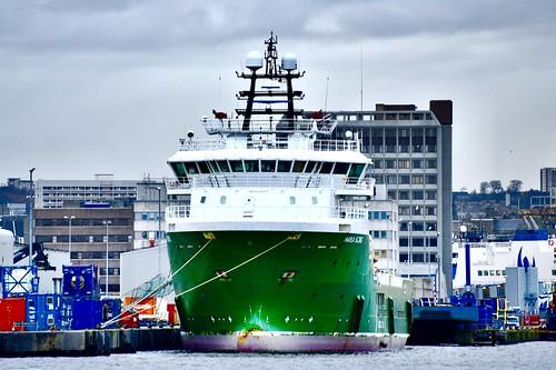 Havila Borg - Aberdeen Harbour Scotland - 25/11/2018