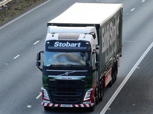 Eddie Stobart, Volvo FH  (Daisy Blue)