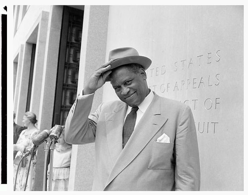 Court denies Paul Robeson a passport: 1955