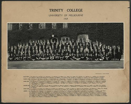 Trinity College, 1969