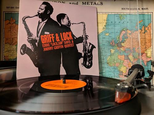 "Eddie ""Lockjaw"" Davis & Johnny Griffin Quintet - Griff & Lock  Jazzland, JLP-42, 1961 US  Original Jazz Classics, OJC-264, 1986 US"