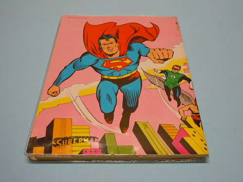 80s Superheroes Notebook Cover