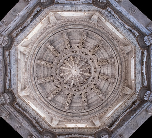 Ceiling detail, Ranakpur temple