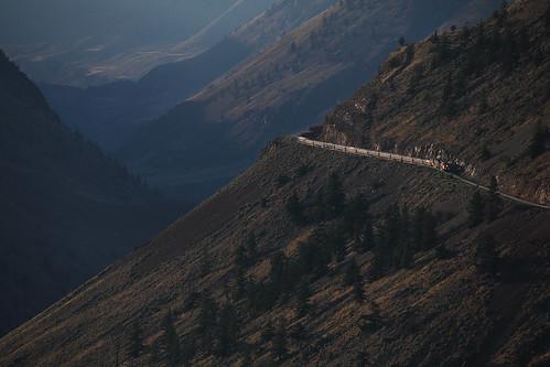 Canadian National's Pavilion Mountain Slide