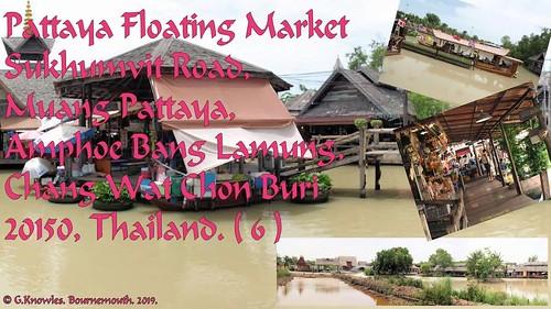 Pattaya Floating Market in 2011, Sukhumvit road,  Bang Lamung, Chang Wat Chon Buri, Thailand. ( 6 )