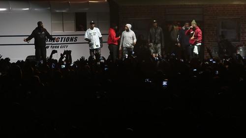 Wu-Tang Clan - RZA (Robert Fitzgerald Diggs), GZA (Gary Grice), Method Man (Clifford Smith), Raekwon (Corey Woods), Ghostface Killah (Dennis Coles), Inspectah Deck (Jason Hunter), U-God (Lamont Jody Hawkins), Masta Killa (Elgin Turner) & Cappadonna (Darry