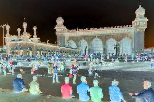 India - Telangana - Hyderabad - Mecca Masjid - 4bb