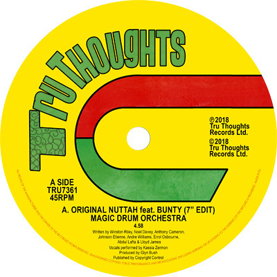 MAGIC DRUM ORCHESTRA - Original Nuttah feat. Bunty / Dread...