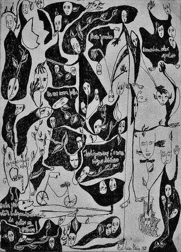 Drawing (1968 - 1969) - Luísa Cunha