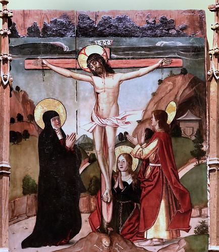 IMG_8414 Maestro de  Los Lunas vers 1500 Tritptych of the flagellation  Museo Santa Cruz  Toledo