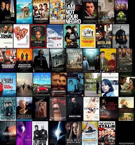 The 47 movies I saw in 2018 :)