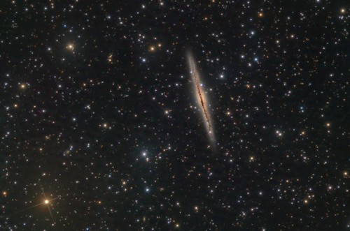 NGC 891 Edge On Galaxie (new version)