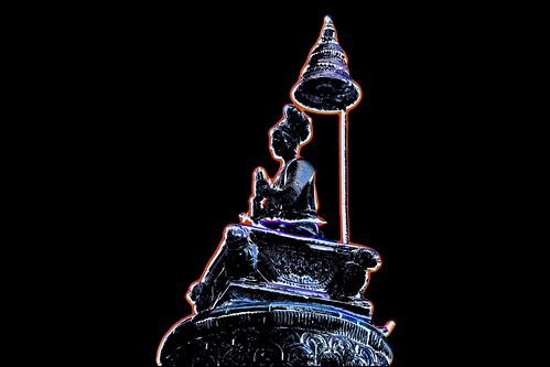 Nepal - Bhaktapur - King Bhupatindra Malla´s Column - 234bb