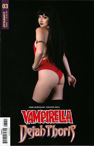 Vampirella / Deja Thoris 3 (Cover E, Karrigan Taylor cosplay)