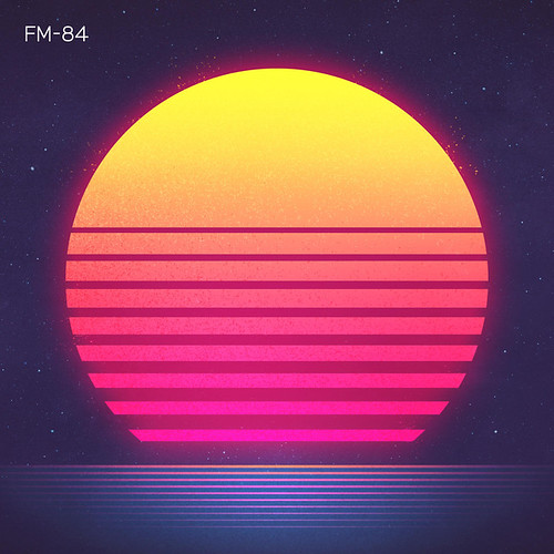 Running in the Night by FM-84, Ollie Wride