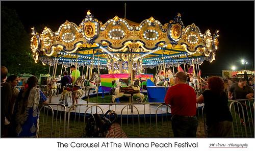 The Carousel At The Winona Peach Festival