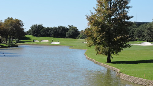 The TPC Las Colinas championship course designed by Jay Morrish along with Byron Nelson and Ben Crenshaw.