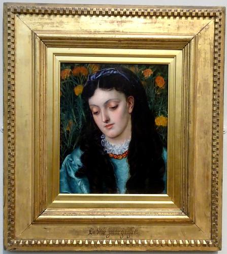 [69229] Hull : Ferens Art Gallery - La Belle Jaune Giroflée