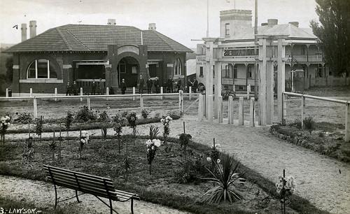 Hilda Gardens, Shire Council Offices, Stratford School