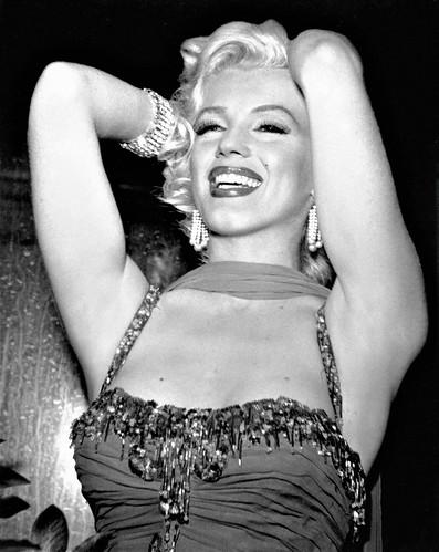 Marilyn Monroe performing at the Hollywood Bowl (St. Jude Hospital Benefit), 1953   BERNARD OF HOLLYWOOD (1912-1987)
