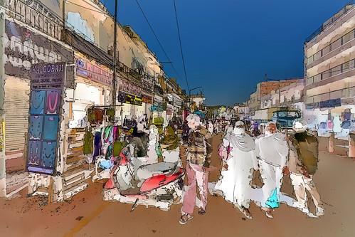 India - Telangana - Hyderabad - Streetlife - 11g