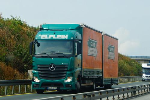 Mercedes-Benz Actros MP4 E6 1845 Streamspace LL - Elflein Spedition & Transport GmbH Thüringen Saale-Holzland-Kreis Hermsdorf, Deutschland