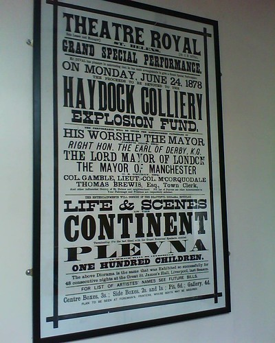 """""""Theatre Royal, St Helens: Grand Special Performance"""",  Haydock Library, 22.4.15"""
