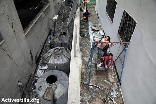 Gaza after an Israeli airstrike, 15.11.2018